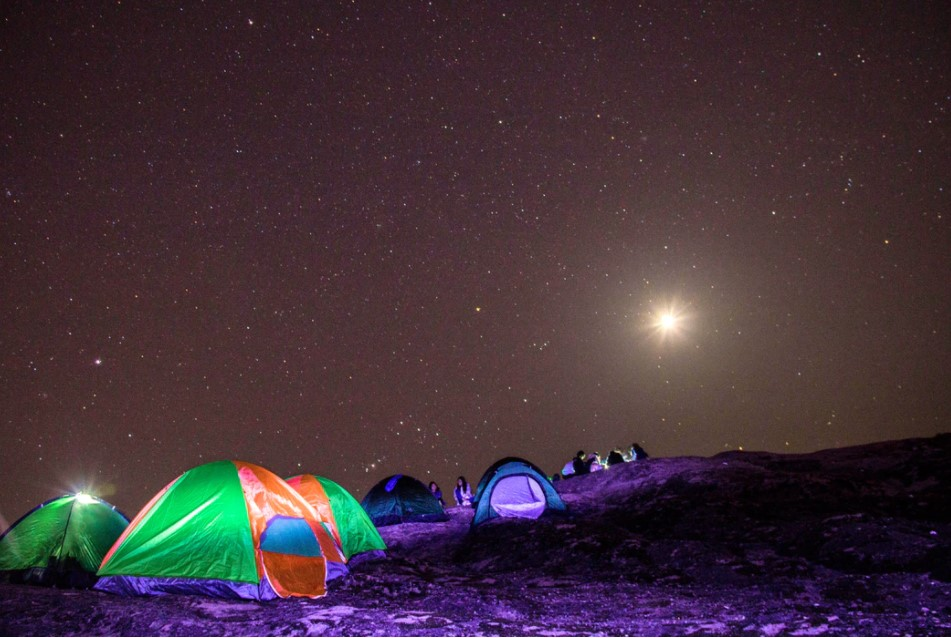 Overnight Camping Wall Tent Ideas